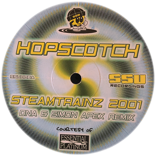 Hopscotch / Simon Apex - Steamtrain (Remix) / We Don