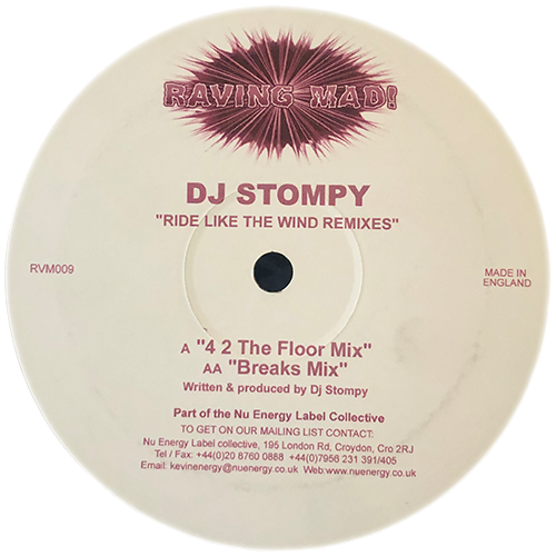 DJ Stompy - Ride Like The Wind Remixes