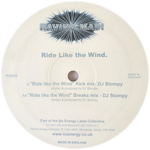 DJ Stompy - Ride Like The Wind (Remixes)