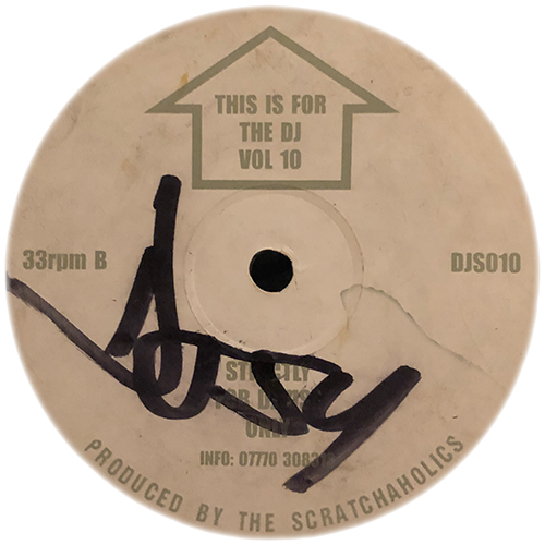 Scratchaholics - This Is For The DJ Volume 10